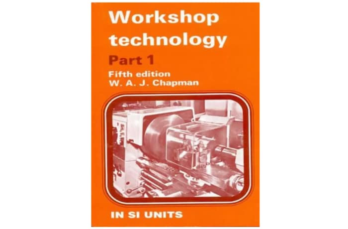 Workshop Technology Part 1 5th Edition image