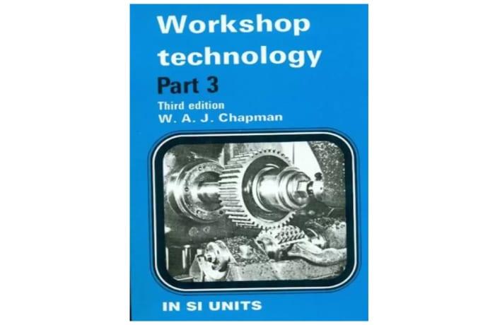 Workshop Technology Part 3 3rd Edition image