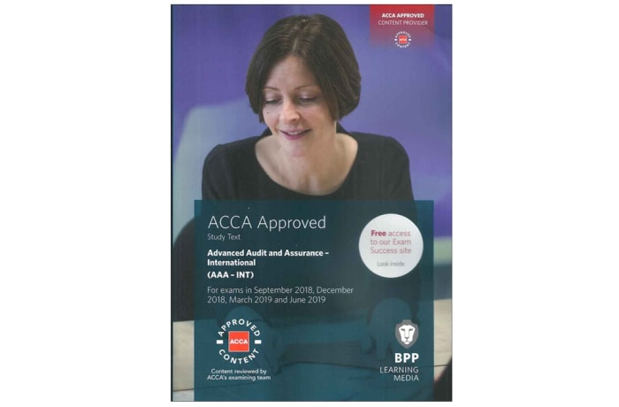 ACCA Advanced Audit and Assurance (International) Study Text image