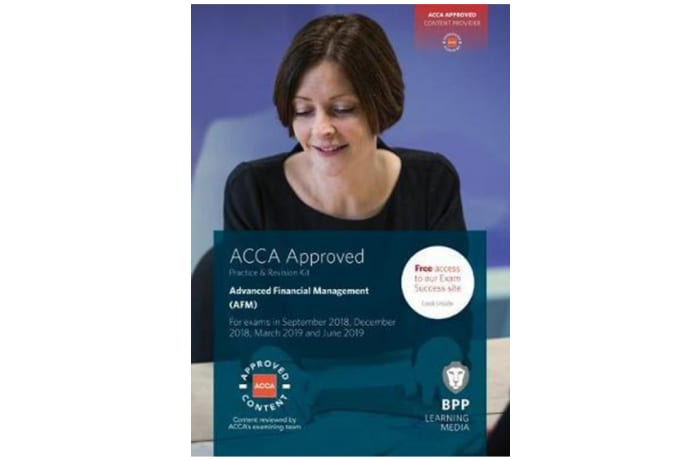 ACCA Advanced Financial Management Study Text image