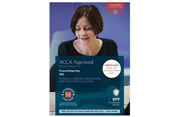 ACCA Financial Reporting Practice and Revision Kit image