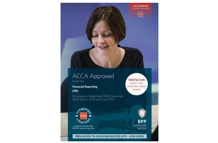 ACCA Financial Reporting Study Text image