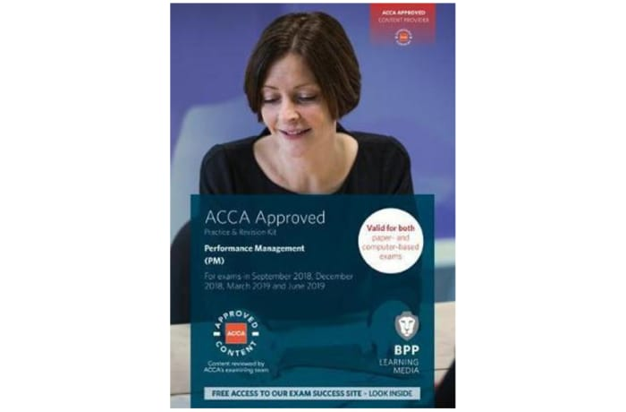 ACCA Performance Management Study Text image