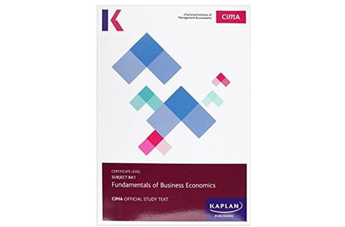 Cima Ba1 Fundamentals of Business Economics – Study Text image