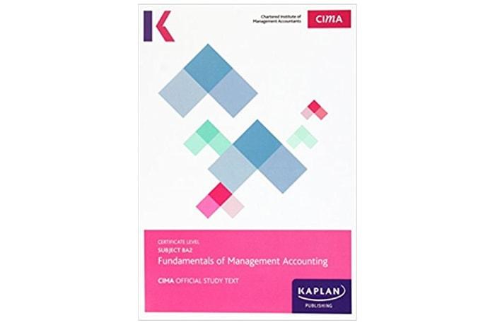 CIMA BA2 Fundamentals of Management Accounting – Study Text image