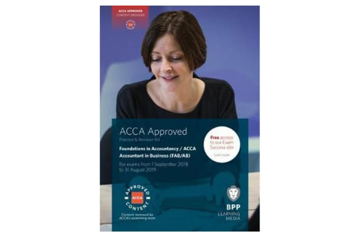 FIA Foundations of Accountantcy in Business FAB (ACCA F1). Practice and Revision Kit image