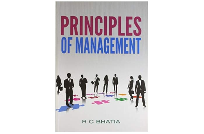 Principles of Management by R. C. Bhatia image