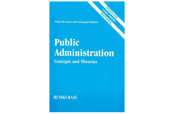 Public Administration: Concepts and Theories image