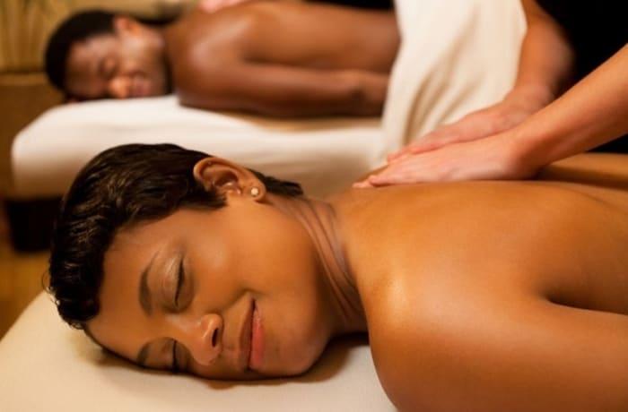 Aromatherapy oil massage image