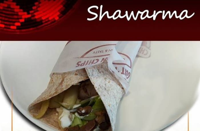 Whole wheat goat shawarma image