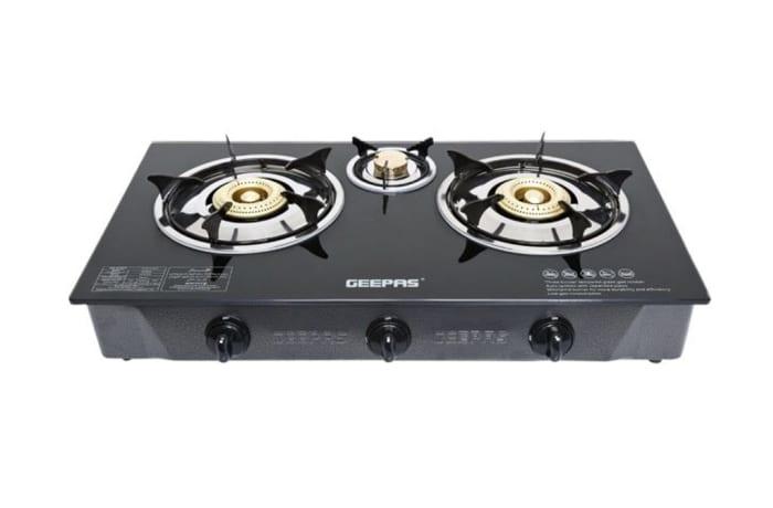 Geepas - glass top stove 3 plate image