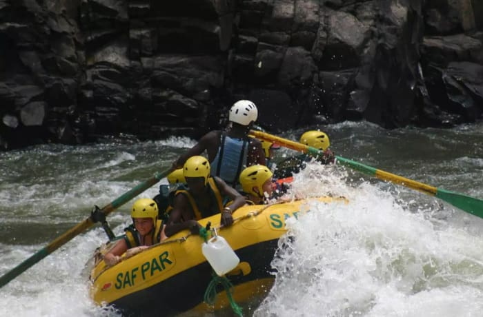 White Water Rafting Half Day image