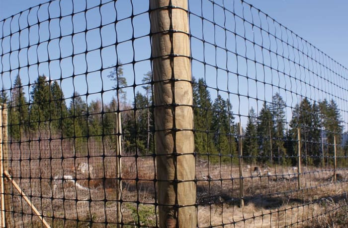Game Fence 100m Roll X 122cm Height Steel Lines Zambia