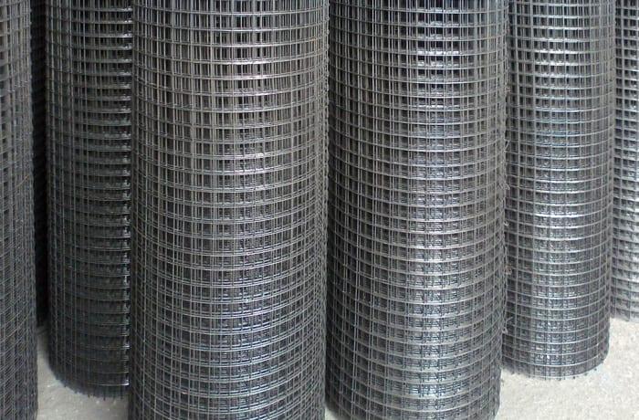 Weld Mesh 2 4 Metre High X 48 Metre Roll Steel Lines