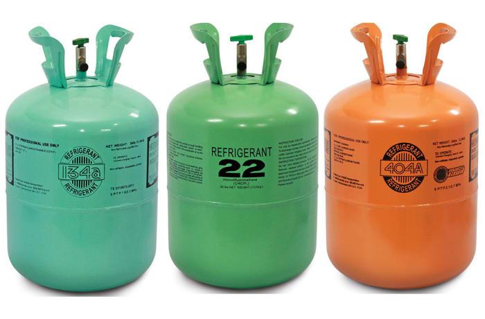 Refrigerant gas - 2
