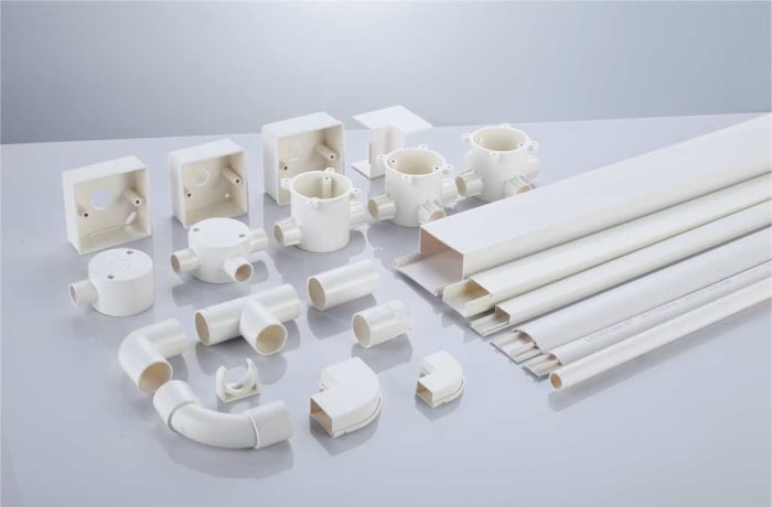 PVC conduit pipe and trunking - 1