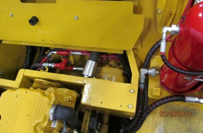 Vehicle fire system maintenance - 2