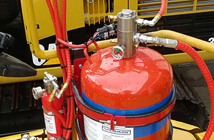 Vehicle fire system maintenance - 3