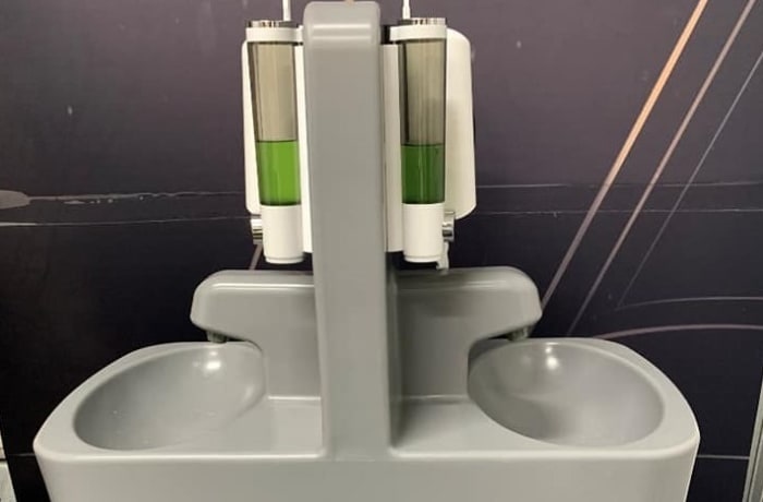 Portable toilets and hand wash stations - 2