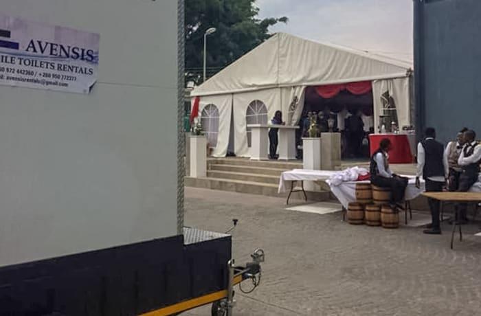 Tent hire - 1