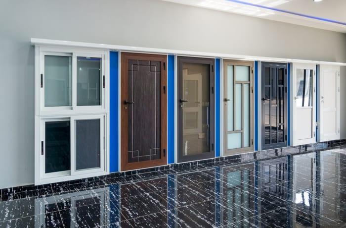 Aluminium windows and doors - 1