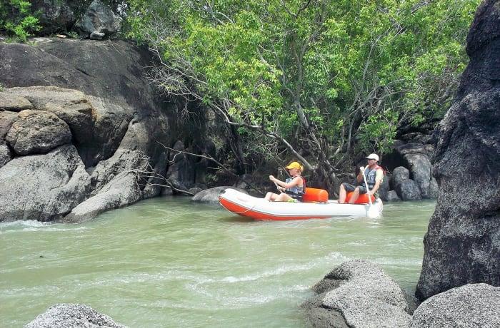 Canoeing and fishing - 2