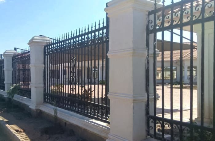 Steel gates and fencing - 2