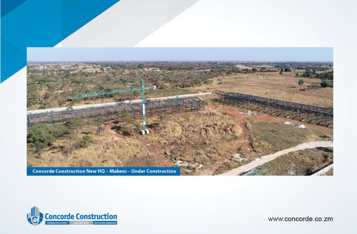 Industrial property construction - 2