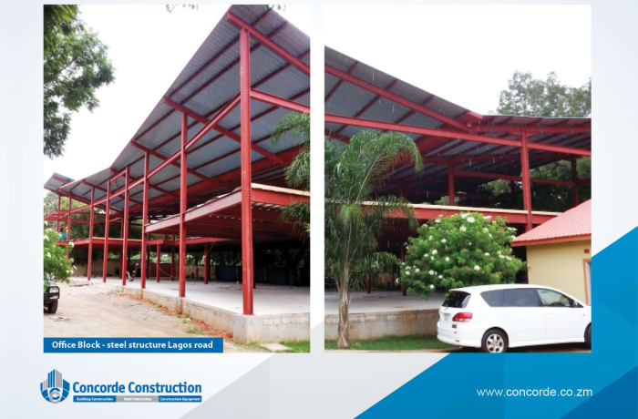 Commercial property construction - 1