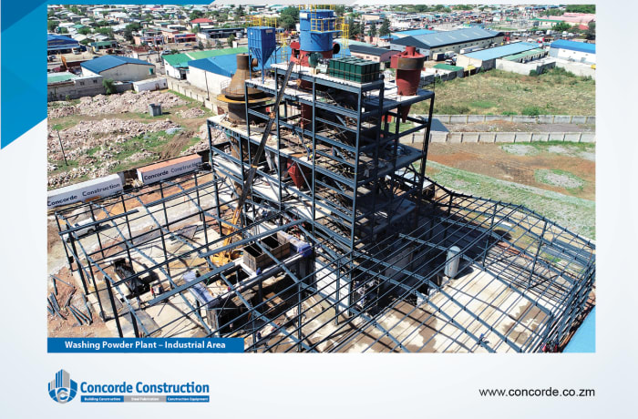 Industrial property construction - 1