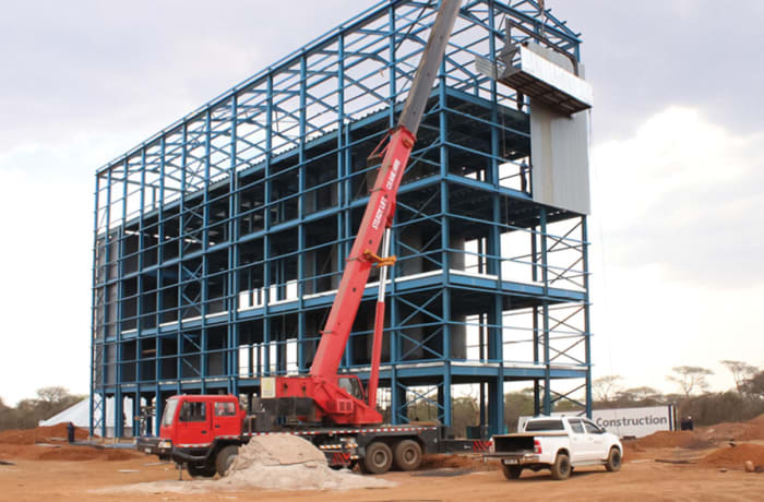 Industrial property construction - 0