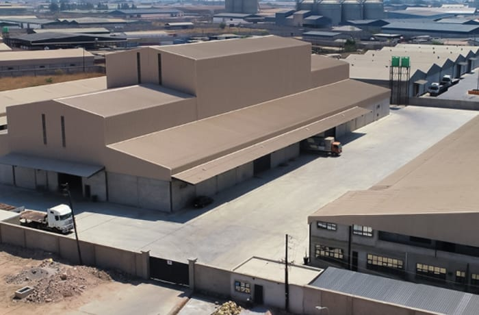 Industrial property construction - 3