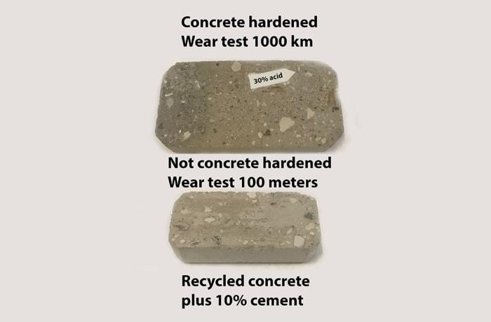 Concrete hardener - 3