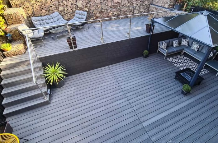Composite decking and wall cladding - 3
