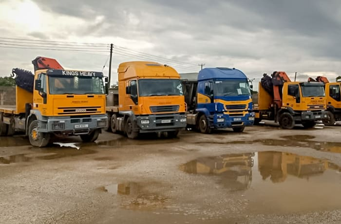 Self-Loading Truck Cranes For Hire - 1