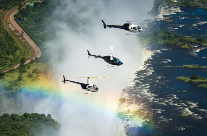 Helicopter flights - 1