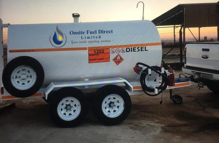 Onsite diesel delivery services - 0