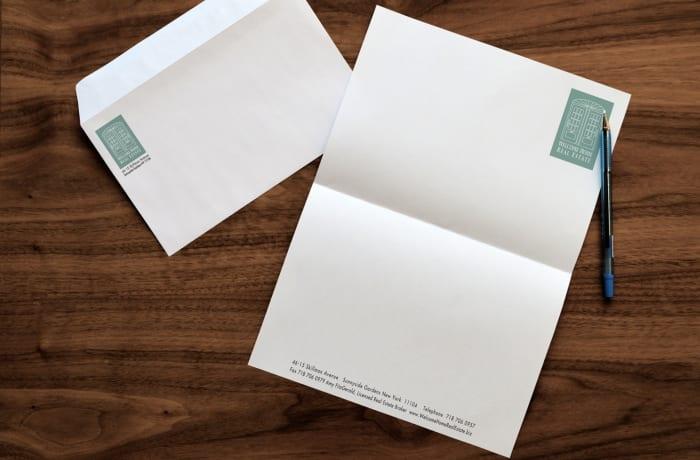 Custom stationery - 2