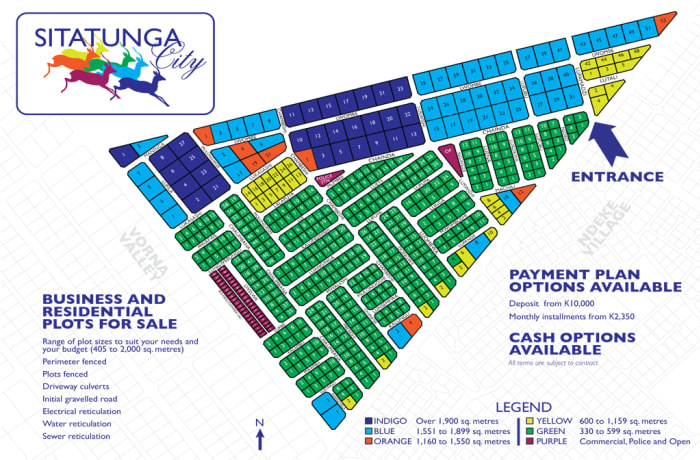 Sitatunga City and Kudu Village residential plots - 2