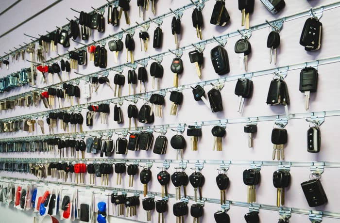 Key replacement and locksmith equipment - 2