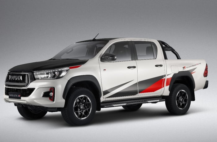 Toyota vehicle model range - 1