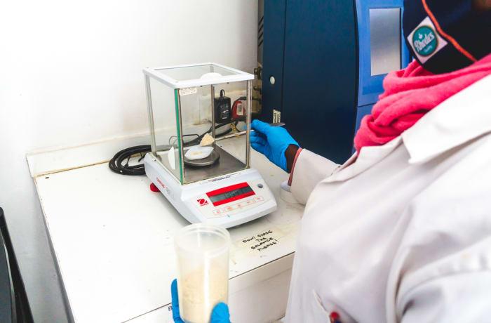 Animal feed and milk testing - 1