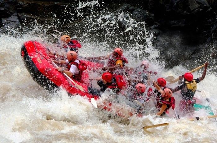 White water rafting - 0