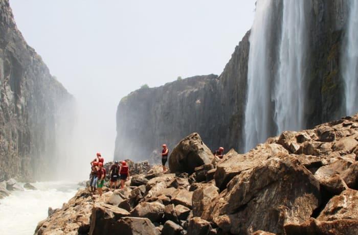 Swim Under Victoria Falls - 2
