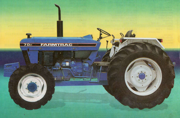 Tractors by Tafe and Farmtrac - 1