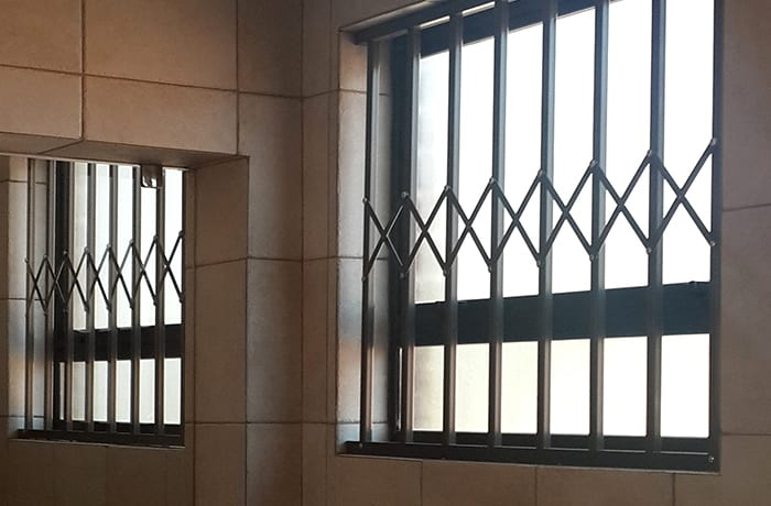 Security gates, burglar bars and roller shutters - 1