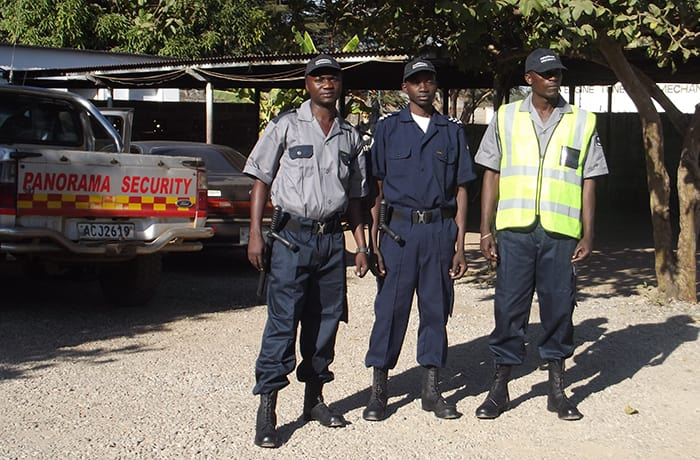 Security services - 3
