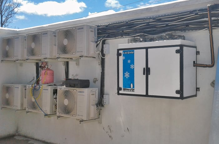 Air conditioning and heating system installation - 0