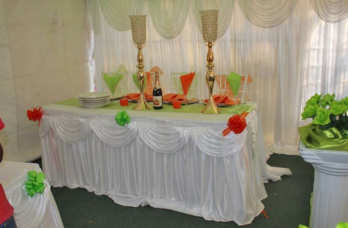 Event and hospitality supplies - 1