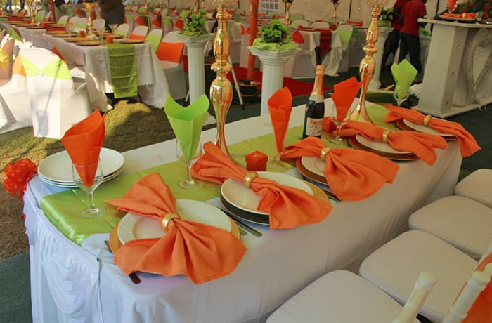 Event and hospitality supplies - 2